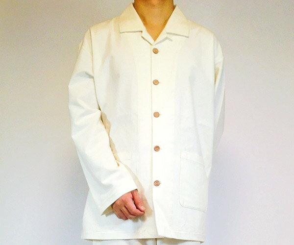 パジャマ メンズ ネル長袖パジャマ きなり オ...の紹介画像2