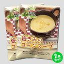 嶽きみのコーンスープ 2袋セット 岩木屋 メール便 送料無料...