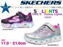 【スケッチャーズ】 SKECHERS S LIGHTS GALAXY LIGHTS SKJ10920L SMLT/BKMT光る/キッズシューズ/pink/ピンク/silver/シルバー/スニーカー/ブラック/カラフル/星/発光シューズ/ジュニア/子供靴/キラキラ/派手/女の子【10 OFF】【あす楽対応】