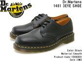 【Dr.Martens】ドクターマーチン 【1461Z 3 EYE SHOE】 1461Z 3アイ シューズ 10085001 BLACK ブラック レザー 本革 メンズ・レディース/革靴/レースアップ/3ホール/Airwair/黒/ギブソン/人気/通販【10%OFF】【送料無料(本州)】【あす楽対応】