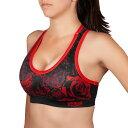 VENUM スポーツブラ SANTA MUERTE 3.0 SPORT BRAS FOR WOMEN (ブラック×レッド) //吸汗速乾 ランニング トレーニング 送料無料