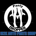 SEXY GAL ON RIDE 5 jdm usdm ステッカー ヘラフラ スタンス 1枚 シルバーホワイト 送料無料 PANTY DROPPER パンティー ドロッパー