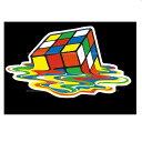 ヘラフラ スタンス ステッカー 1枚 キュービックキューブ usdm 送料無料 キューブ マーチ ビートル