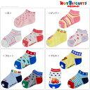 【ゆうパケットOK】【HOT BISCUITS ホットビスケッツ】ローカットソックスパック(靴下3Pセット)(11cm-19cm)ミキハウス 靴下