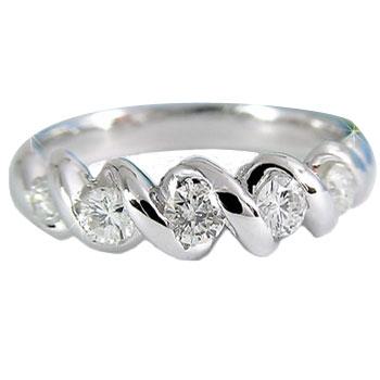 【送料無料】ダイヤ ダイヤモンド プラチナリング 指輪 ダイヤモンドダイヤモンド 0.45ct 指輪 レディース ダイヤモンド ダイヤモンドリング ファッションリング ストレート 指輪:彼女:妻:プレゼント:送料無料:ダイヤモンドpinkyリングダイヤモンドリング ダイヤリング  通販 ネット限定販売 プレゼントとして