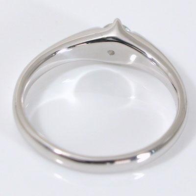 婚約指輪 プラチナ エンゲージリング ダイヤモ...の紹介画像3