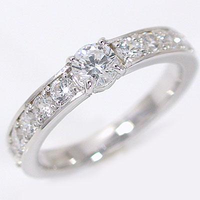 婚約指輪:エンゲージリング:ダイヤモンド:0.3ct/F-VS2-EX:鑑定書付:指輪:プラチナ900:脇ダイヤ0.6ct/PT900ダイヤ指輪【送料無料】 婚約指輪(エンゲージリング)0.3ct/F-VS2-EX:鑑定書付ダイヤモンドリング:プラチナ900 【送料無料】