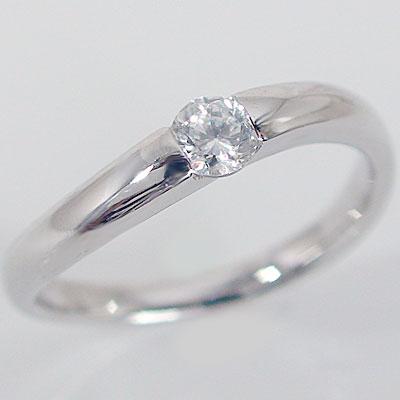 婚約指輪 プラチナ エンゲージリング ダイヤモン...の商品画像