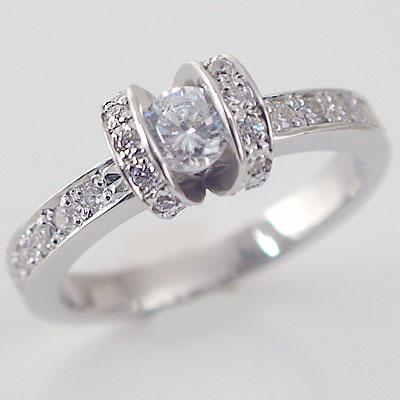 婚約指輪:エンゲージリング:ダイヤモンド:0.3ct/E-VVS2-EX:鑑定書付:指輪:プラチナ900:脇ダイヤ0.34ct/PT900ダイヤ指輪【送料無料】 婚約指輪(エンゲージリング)0.3ct/E-VVS2-EX:鑑定書付ダイヤモンドリング:プラチナ900