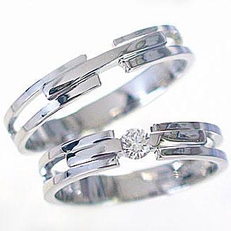 マリッジリング:結婚指輪:ペアリング:ホワイトゴールドk10;ダイヤモンド指輪:ペア2本セット/K10wg指輪ダイヤ0.10ct【送料無料】 結婚指輪,マリッジリング(ペア2本セット)ホワイトゴールドk10:ペアリング 贈り物プレゼントにおすすめ