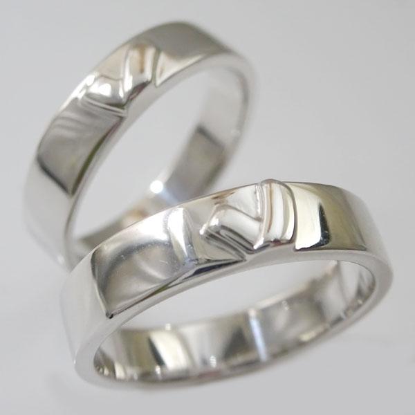 結婚指輪:マリッジリング:ペアリング:シルバー925:ペア2本セット/SV925指輪/キスマーク【送料無料】 結婚指輪,マリッジリング,ペアリング:シルバー925(2本セット)キスマーク