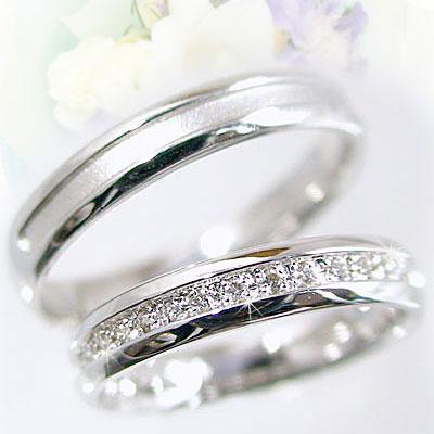 【匠の技】結婚指輪:ペアリング:プラチナ900:マリッジリング:ダイヤモンド:ペア2本セット/Pt900指輪ダイヤ0.10ct【送料無料】 結婚指輪,マリッジリング,プラチナ/ペアリング(2本セット)【送料無料】