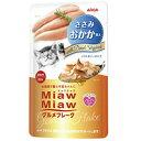 アイシア Miaw Miaw ミャウミャウ グルメフレーク ささみ おかか添え 猫用 60g