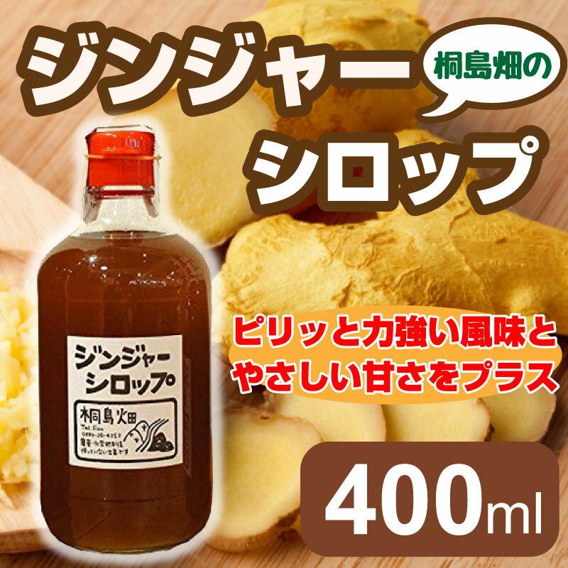ジンジャーシロップ 400ml 桐島畑 高知県 ...の商品画像