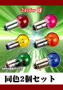 24v6w耐震カラー球2個セット