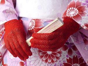 レースショート手袋(全6色)