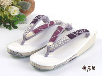 "modern ""tsuki to kame"" Sandals (sandals) rose (white Tendai, side handle and wine) ♪ floral / limited / original / white purple pink pattern and when used straps immediately shipping OK! COD fee, ♪ etc... of subject goods."