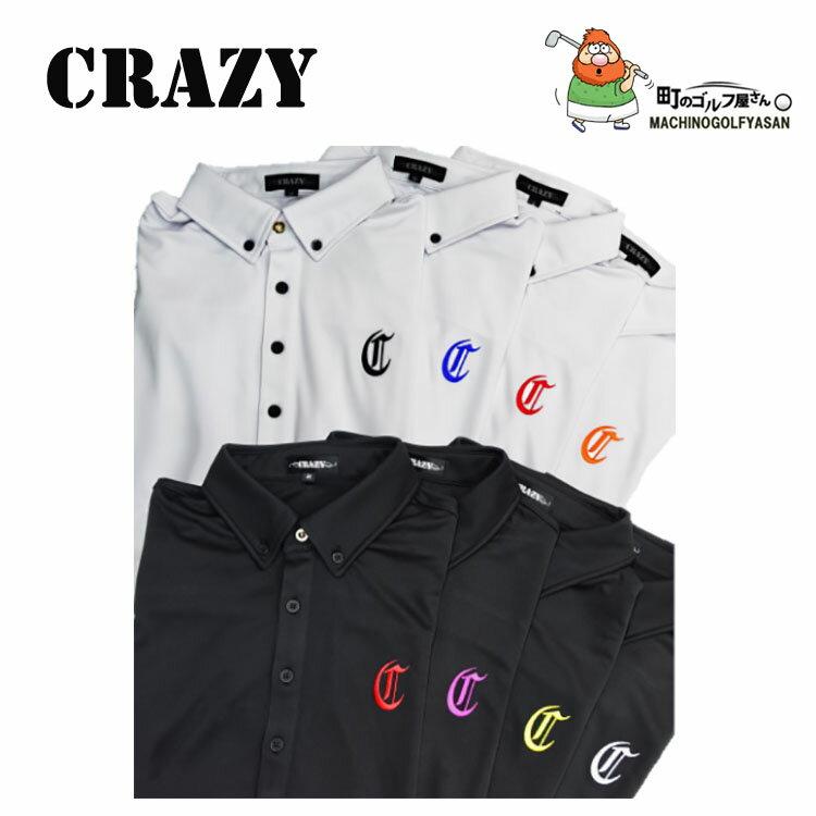 【送料無料】【2017年モデル】CRAZY クレイジー ポロシャツ メンズ ウェア Men's Wear【17ss】 カラーバリエーション豊富でお洒落なポロシャツ。
