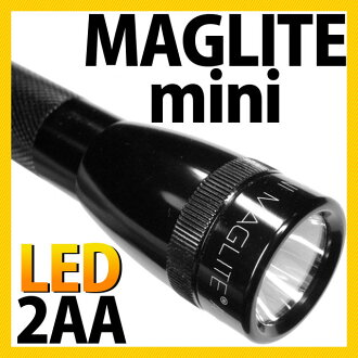(Maglite) MAGLITE miniMAG LED mini Maglite LED 2 CELL AA (2-cell AA)