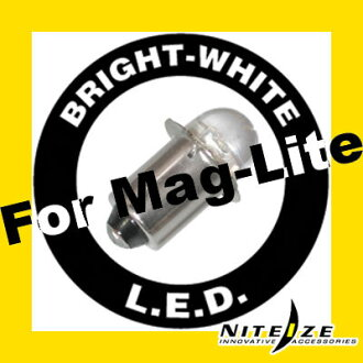 Maglite Maglite led C cell D cell bulb LED replacement bulb niteize LED upgrade kit