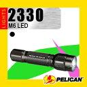 懐中電灯 PELICAN ペリカン Tactical Light タクティカルライト M6 2330 LED [防水ライト 防塵ライト フラッシュライト ペリカンライト]【YDKG-s】