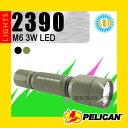 懐中電灯 PELICAN ペリカン Tactical Light タクティカルライト M6 3W 2390 LED [防水ライト 防塵ライト フラッシュライト ペリカンライト]【YDKG-s】