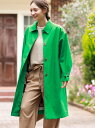 [Rakuten Fashion]コットンボンディングコート MACKINTOSH PHILOSOPHY WOMEN マッキントッシュ フィロソフィー コート/ジャケット ステンカラーコート グリーン ネイビー ベージュ【送料無料】