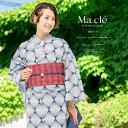 浴衣 3点セット(浴衣/半幅帯/下駄) Macle by b...