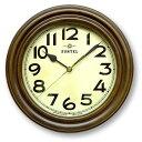 ショッピング電波 日本製 TRDE-MARK レトロ電波時計 スタンド付 アンティークブラウン DQL668【送料無料】クーポン 配布中 【メーカー直送 代引き・期日指定・ギフト包装・注文後のキャンセル・返品不可 ご注文後確認時に欠品の場合、納品遅れやキャンセルが発生します。】