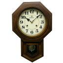 ショッピングアラビア ボンボン振り子時計(アラビア文字) QL688 八角渦ボン時計日本製 手作り 茶色【送料無料】クーポン 配布中 【メーカー直送 代引き・期日指定・ギフト包装・注文後のキャンセル・返品不可 ご注文後確認時に欠品の場合、納品遅れやキャンセルが発生します。】