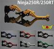 【送料無料!!】Ninja250R/250TR アルミ削り出しカスタムショートレバーセット 02P18Jun16