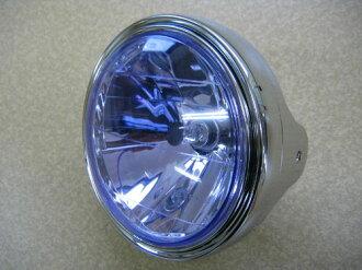 상품 신고 후에 하시면!! マルチリフレクターライト 블루 렌즈/도금 케이스