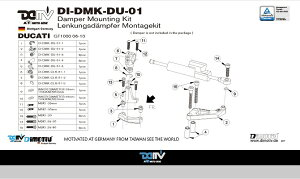 ���ʤ��Ϥ���˥�ӥ塼��Ƥ�������������̵��!!���ƥ������ѡ��ޥ���ȥ��å�25.1mm�ޥȥꥹ(DamperMountingKitforMATRIS)DUCATI-GT100006-10