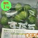 【送料無料】箱売 すだち 1箱(1kg)
