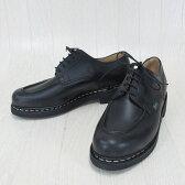 Paraboot パラブーツ CHAMBORD シャンボード 710709 メンズ Uチップ レザー シューズ 本革 靴 紳士靴 フランス製 /NOIR ノワール サイズ:6/6.5/7/7.5/8/8.5