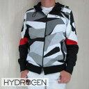 HYDROGEN ハイドロゲン パーカー ジップアップパーカー スウェット メンズ ブルゾン 200600/グレーカモ サイズ:S/M/L/XL