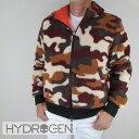 ハイドロゲン HYDROGEN メンズ ブルゾン フリース ジャケット アウター 230700 / 369 / オレンジカモ サイズ:S〜XL