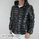 ハイドロゲン HYDROGEN メンズ ダウンジャケット コラボモデル スカル ダウン アウター 23D008 / 007 / ブラック 黒 サイズ:46〜54