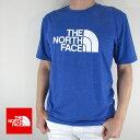 ノースフェイス THE NORTH FACE Tシャツ 半袖 メンズ カットソー NF0A3VHK / H6X / MARKER BLU HTHR サイズ:S/M/L