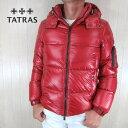 タトラス TATRAS ダウン メンズ ダウンジャケット フード付き MTAT20A4562-D / レッド 赤 サイズ:1〜5