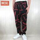 ディーゼル DIESEL メンズ スウェットパンツ P-TROX-ML / 9XXC / ブラック 黒 サイズ:XS〜XXL