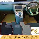 ホンダ シビック タイプR フロアマット 1台分 (年式:2005年9月〜 型式:FD1 FD2用)車種専用設計フロアマット Mシリーズ カジュアルライン HONDA シビック タイプR フロアマット シビックタイプRフロアマット