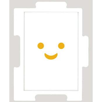 エンスカイ製 パネルフレーム ミニパズル専用TSUNAGARU+スースータブレット(ホワイト)10×14.7cm