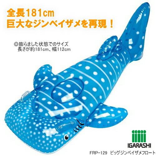 ビッグジンベイザメフロート 浮き輪 魚型