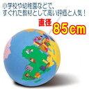 塾や学校の教材に。体験学習にもピッタリ!大型ゴムボール製地球儀。ゴロリン地球儀 (直径85cm 布製教材用地球儀)