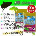 DHA+EPA+DPA+レスベラトロール+イチョウ葉エキス 2個(40粒×2個)広貫堂 廣貫堂