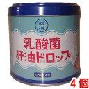 西海製薬乳酸菌 肝油ドロップ 120粒 4個肝油ドロップ(オレンジ風味)