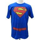 ショッピングユニフォーム スーパーマン 52TORSO DCコミックスユニフォームTシャツ【半袖 Tシャツ SUPERMAN メンズ】S M L サイズ ネコポス発送 マジックナイト SM1983