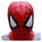 スパイダーマン なりきりマスク コミック版【ハロウィン 仮装 変装 グッズ 雑貨 被り物 かぶりもの】マジックナイト OS61237