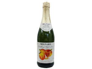 MIGNARD Minyard sparkling apple juice you buy (750ml×12 books)